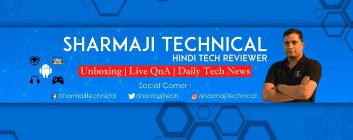 Youtuber sharmaji technical