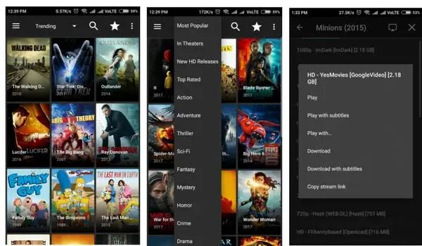 Terrarium video streamer for android