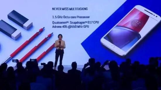 Moto G & Moto G plus Processor