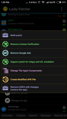 lucky patcher features remove ads