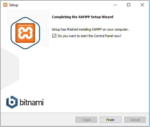 do you want to start the xampp control panel