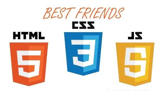 html css js logo