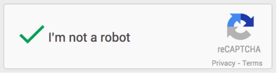 google captcha code widget