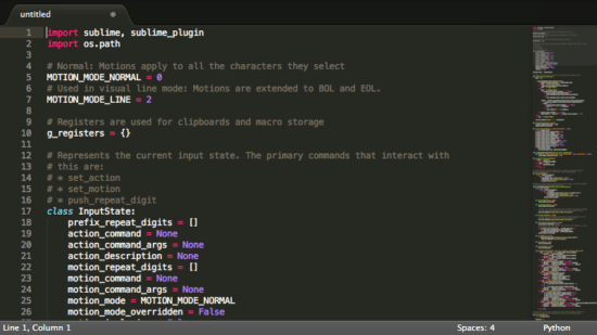 Sublime text 3 for linux and windows