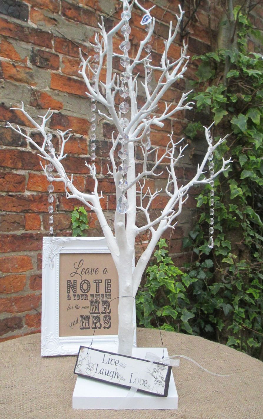 Wish Tree Bundle Manzanita Wishing Tree Framed Sign Live