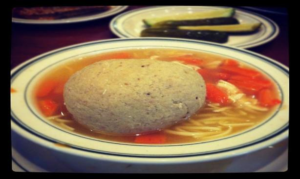That's a matzo ball!
