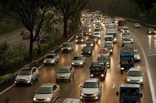 Driving Cars in a Traffic Jam