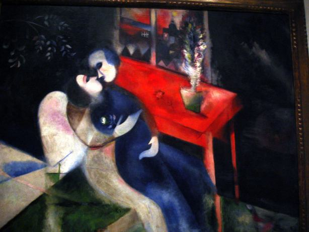 Painting by Chagall