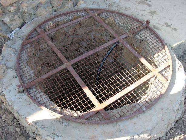 Trappe de puits