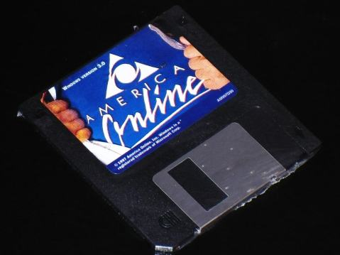 Before the days of AOL CDs there was