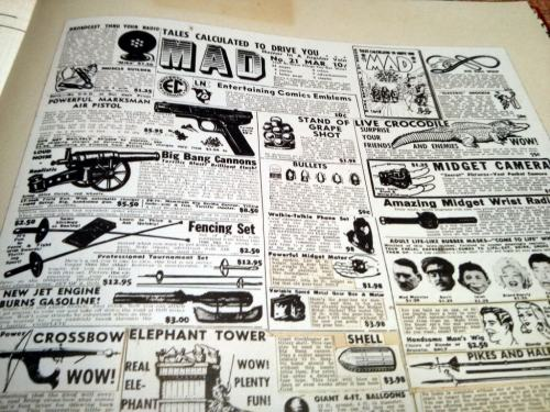 Classified ads 2, , IDW, MAD Artist's Edition, the office, Hackney, London, UK