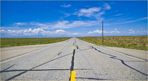 'The Open Road' -- Near Great Sand Dunes National Park (CO) August 2013