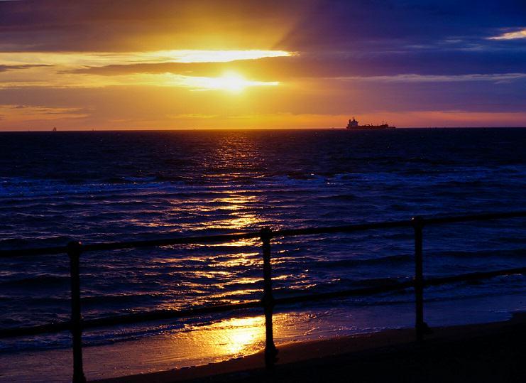 Shot by Beverley Goodwin Sunset, Crosby beach