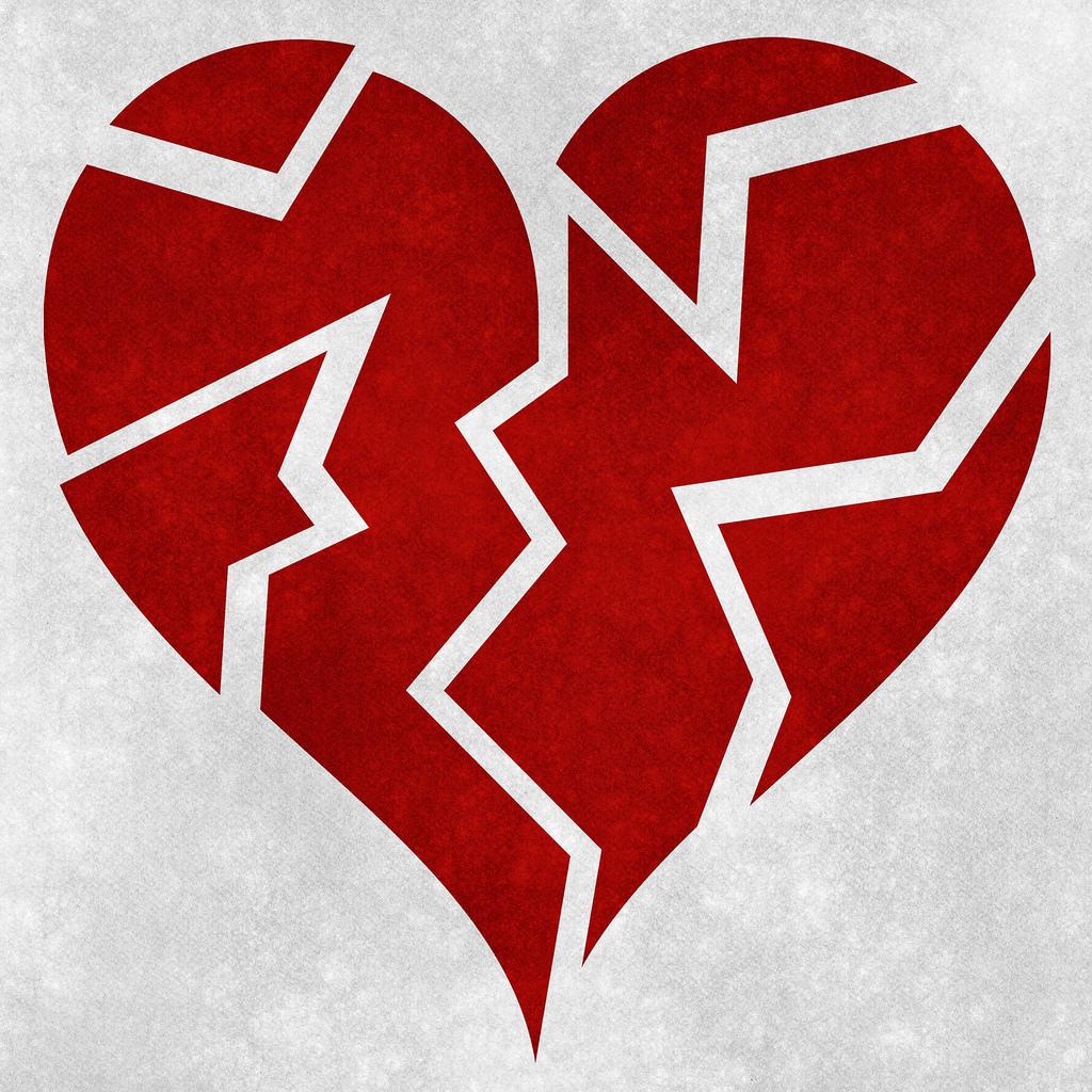 broken heart grunge She Saved My Heart