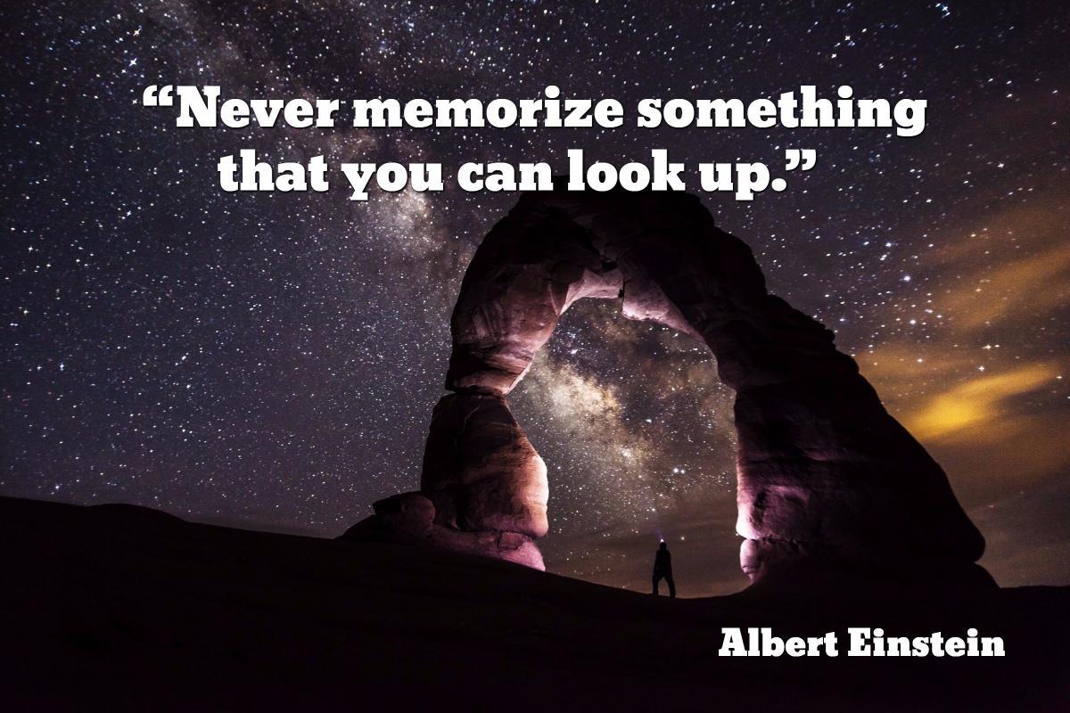 einstein-memory