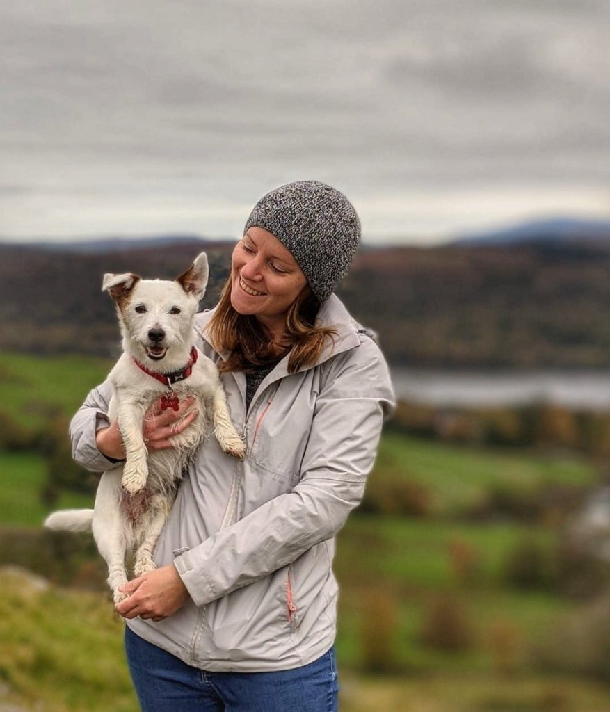Jo Williams and the Jack Russell