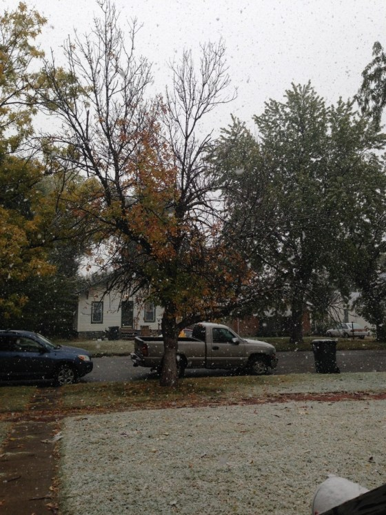 Kansas October Snow