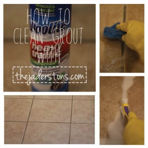 Cleaning Grout Feature