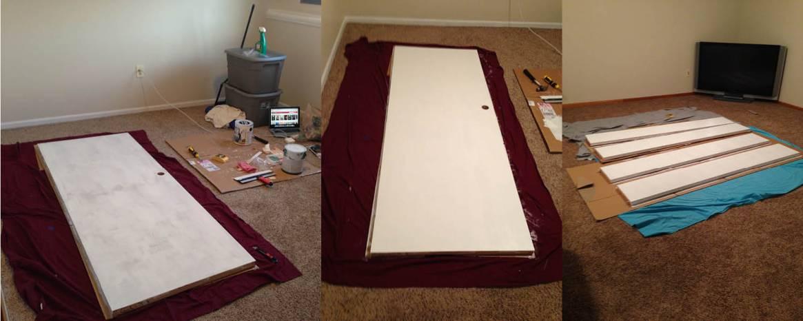Painting Trim White Doors