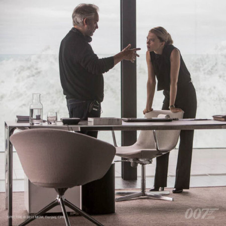 Sam Mendes directs Léa Seydoux