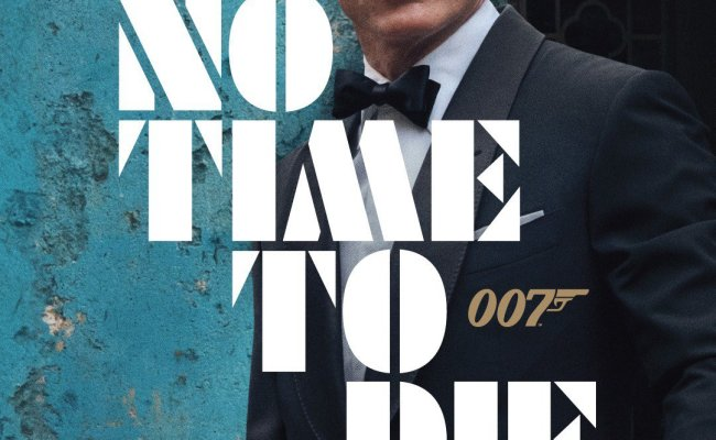 No Time To Die Teaser Poster Released The James Bond Dossier