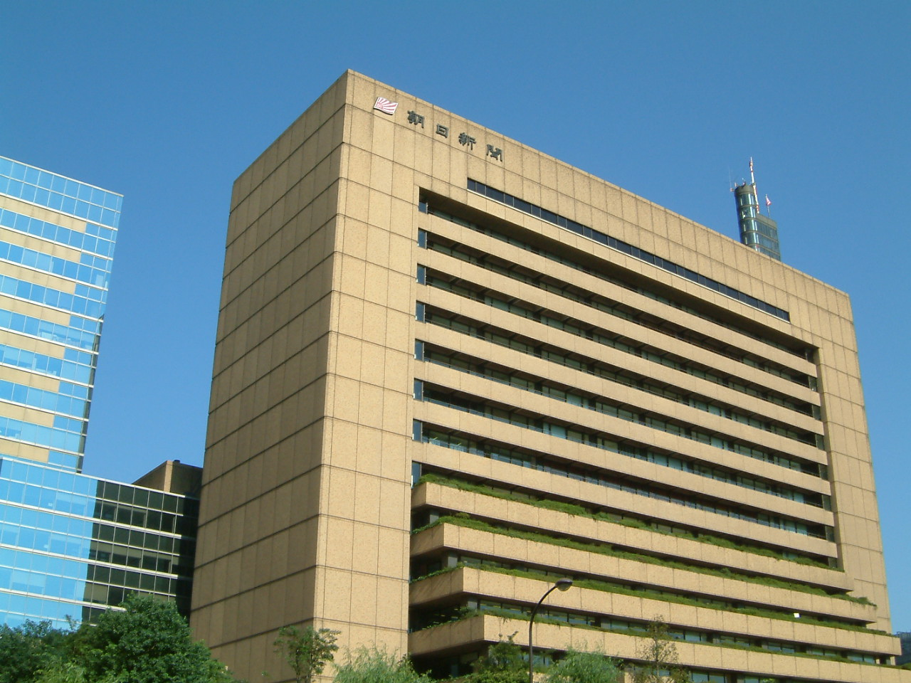 Palazzo del Asahi Shinbun - The Japanese Dreams