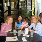 Lunch with Kristin, Abby, and Bonnie