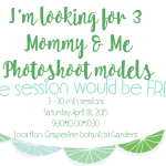 DFW Model Call: Mommy & Me Photoshoots