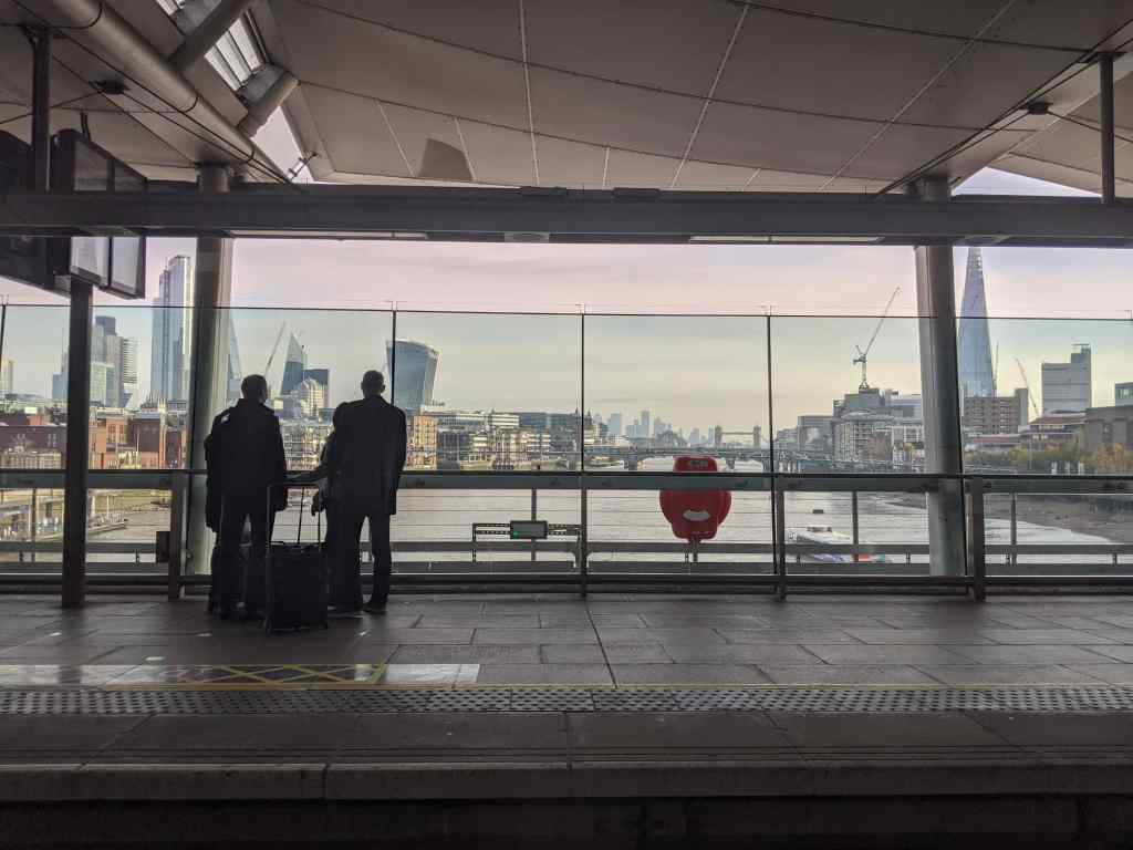 Blackfriers station london 2019