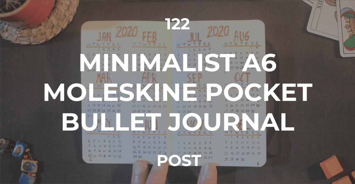 thejaymo.net Blog header minimalist bullet journal