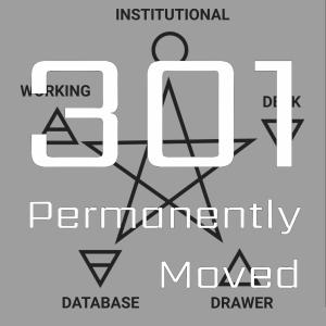 301 – 1933 – Organisational Memory