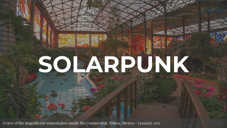Solarpunk Slide
