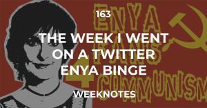 163 :: The Week I Went On A Twitter Enya Binge