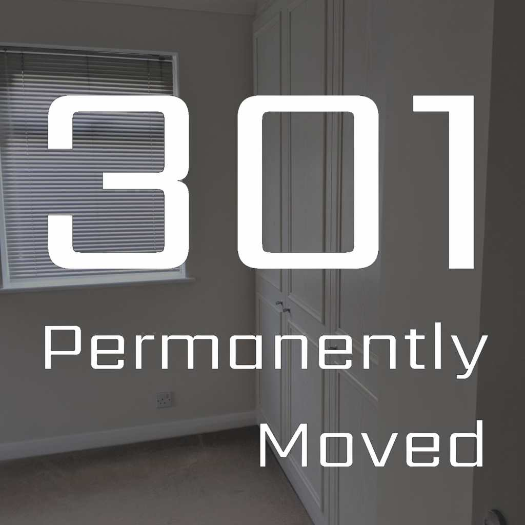 Permanently Moved Episode Cover 2045