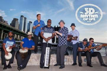 New Album from Latin Tropical Soul Band 3D Rhythm of Life Fantasy