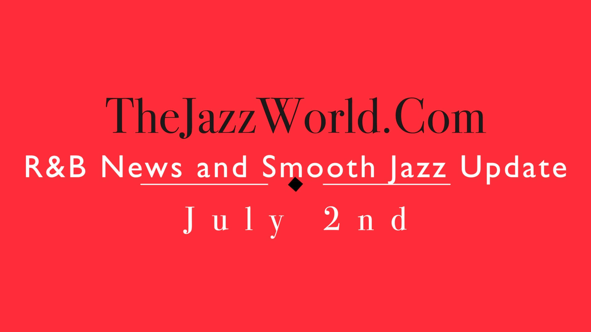 The Jazz World Show 7:2