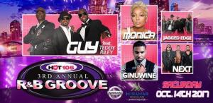 the jazz world 3rd annual R&B groove