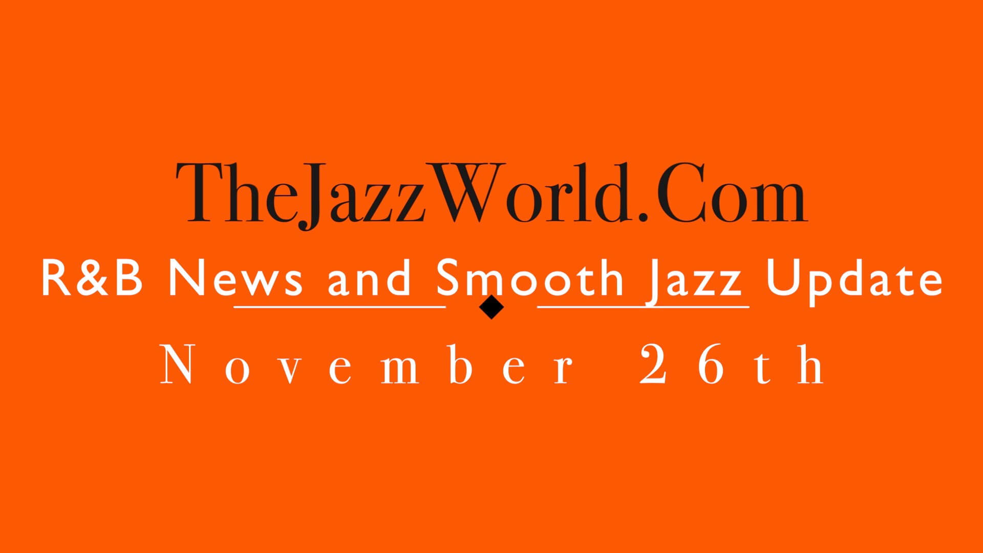 The Jazz World Show 11:26