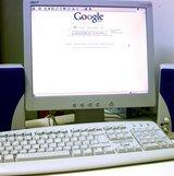 old computer set