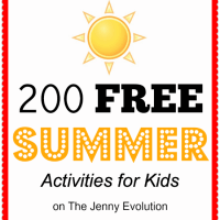 200 Free Summer Activities for Kids
