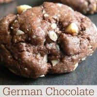 German Chocolate Cake Cookies Recipe