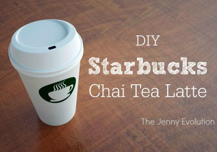 Diy Starbucks Chai Tea Latte