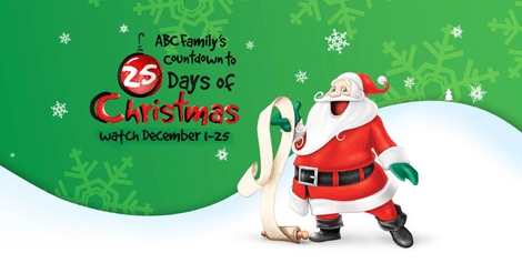 25 Days of Christmas Movies + FREE Printable Schedule Highlights
