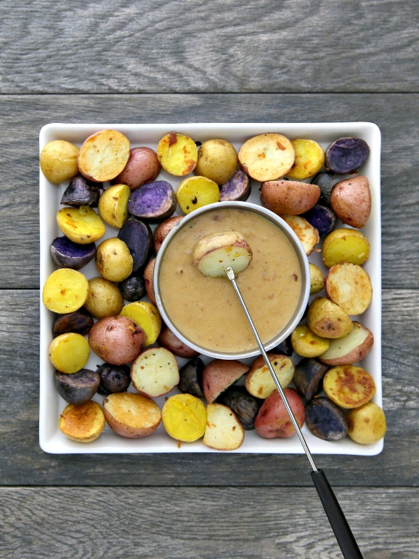 Irish Potato Fondue Recipe for St Patrick Day