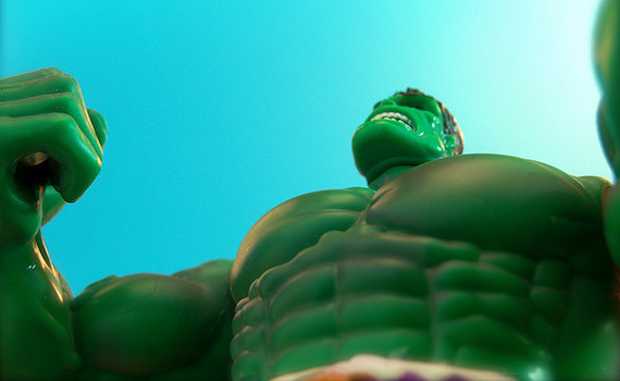 So you want to get big and strong like the Hulk... Beginner Strength Training Guide
