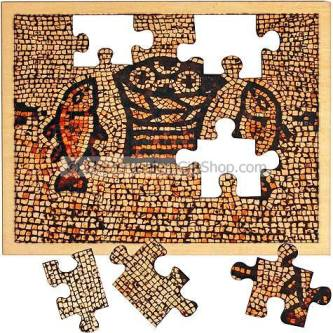 Jigsaw Puzzle Tabgha - Bread and Fish Mosaic