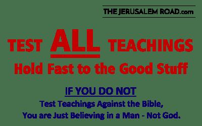 Test ALL Teachings