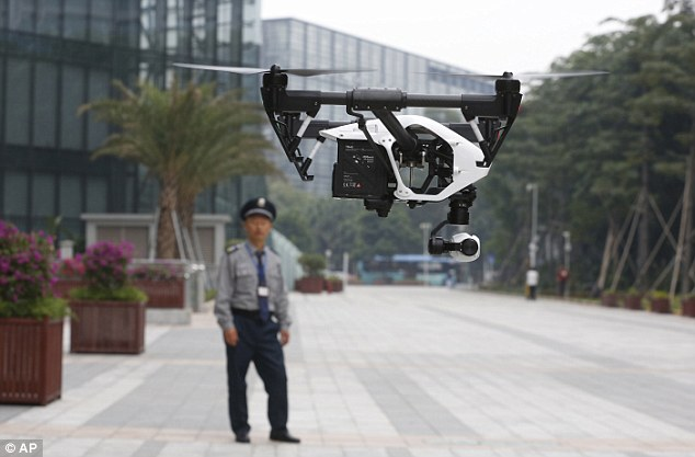 Commercial Drones – A flying Hazard…