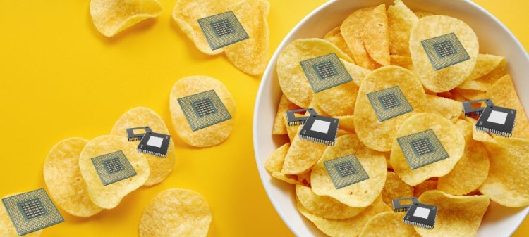The power of chips!
