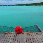 hammock Maldives view paradise